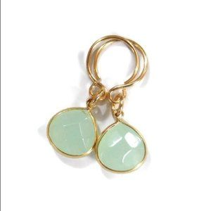 New: Aventurine Gemstone Briolette Earrings